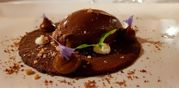 Taco de chocolate | Foto: J. L. Conde