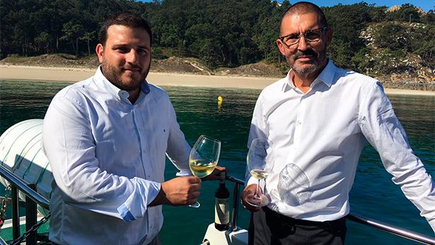Antón Fonseca y Enrique Costas, de Terras Gauda