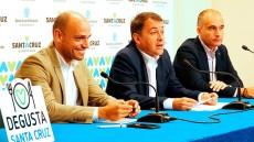 De izquierda a derecha, Alfonso Cabello, José Manuel Bermúdez y Cosme Cabrera