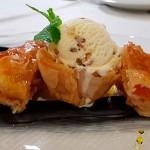 Strudel de manzana y papaya | Foto: J.L. Conde
