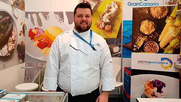 Abraham Santana preparará Ferreros de morcilla de Teror con mermelada de cebolla roja de Gáldar   Foto: J.L. Conde