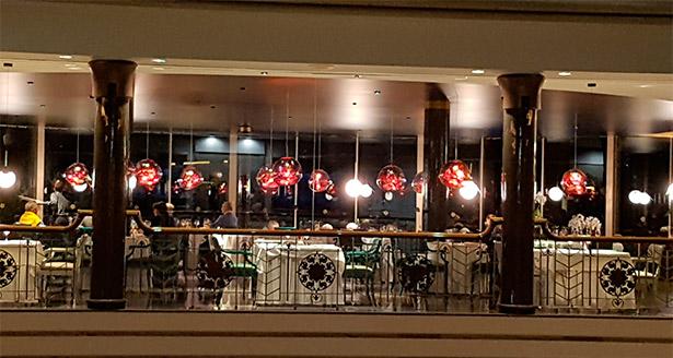 Restaurante La Cúpula, en el Hotel Jardines de Nivaria | Foto: J.L. Conde