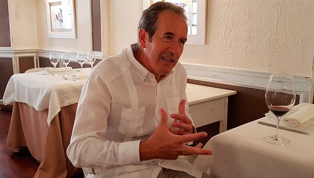 Agustín Santolaya, director general de bodegas La Horra y Roda | Foto: J.L. Conde