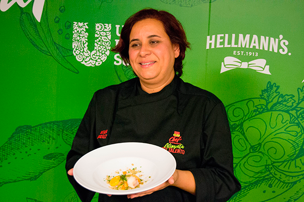 Natalia González Godoy, del IES Santa María de Guía, de Gran Canaria, ganadora de la semifinal