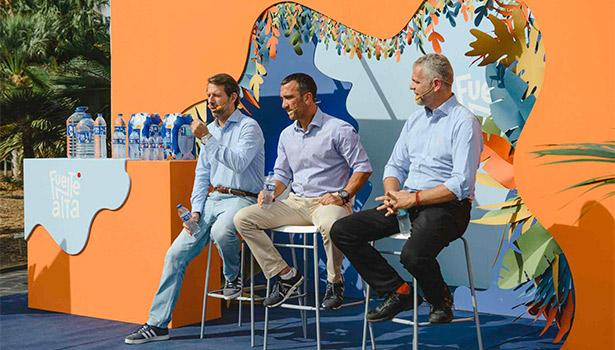 La presentación de la nueva imagen ha tenido lugar en el Palmetum de Santa Cruz de Tenerife
