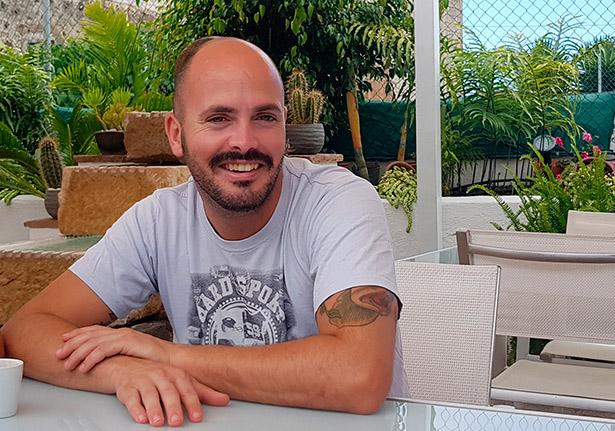 El chef Víctor Suárez, del restaurante Haydeé   Foto: J. L. Conde