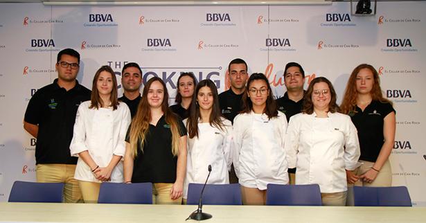 Once de los 17 estudiantes de HECANSA que se disputarán tres becas en El Celler de Can Roca