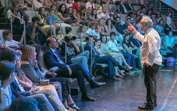 Ferran Adrià, en el último acto en el que participó en Tenerife