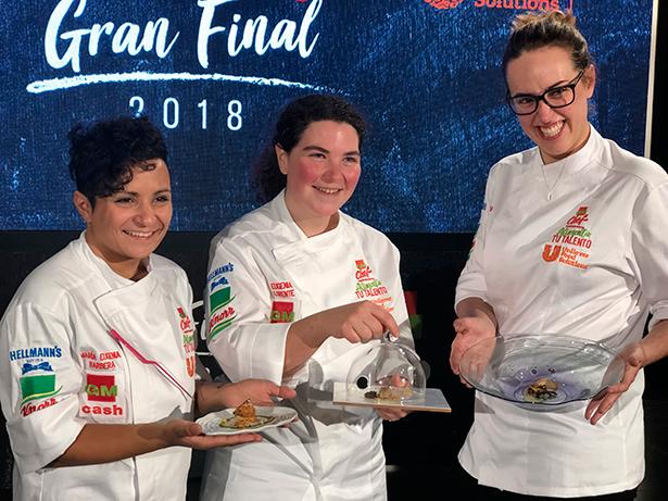María Eugenia Barbera, Eugenia Lorente y Magdalena Mas, coparon el podio del concurso