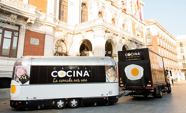 """Caravana de Canal Cocina con su inconfundible """"huevo frito"""""""