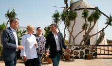 Susi Díaz fue la invitada de El Chef Viajero en Fuerteventura