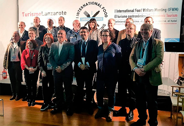 Foto de familia de los ponentes del congreso celebrado en Lanzarote