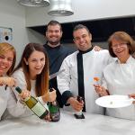 María José, Raquel, Jonathan, Juan Carlos e Ina, la familia de El Rincón de Juan Carlos | Foto: J.L. Conde