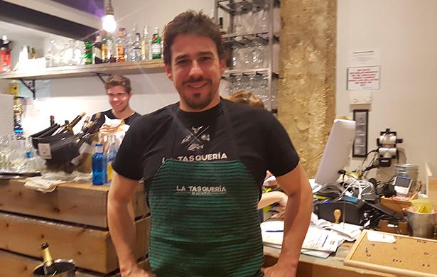 Javi Estévez, chef de La Tasquería | foto: J.L. Conde