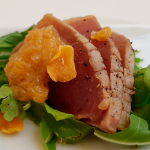 Tataki de bonito con salsa Ponzu/Dijon del restaurante Kabuki | Foto: J.L. Conde