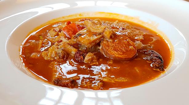 Callos, uno de los platos estrella de La Sandunga | Foto: J.L. Conde