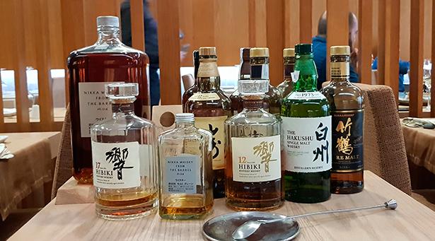 El whiskey japonés es una de las bebidas alcohólicas que le está haciendo competencia al sake | Foto: J. L. Conde