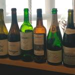 Algunos de los vinos degustados en la cena de los hermanos Roca | Foto: J.L. Conde