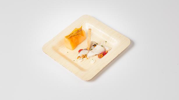 El plato elaborado por Juan Mari y Elena Arzak en la edición de este año de San Sebastián Gastronomika | Foto: Coconut