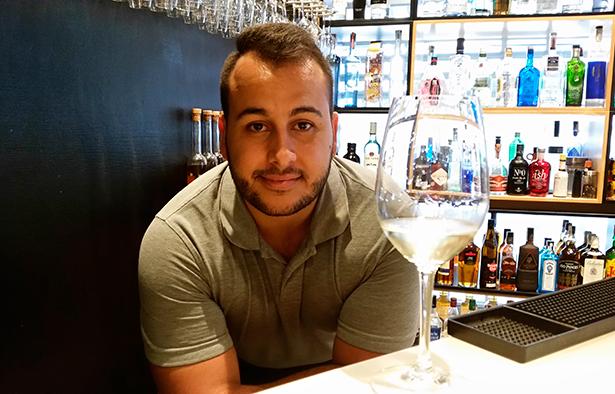 Christian Lorenzo, sumiller de El Gusto por el Vino | Foto: J.L.C.