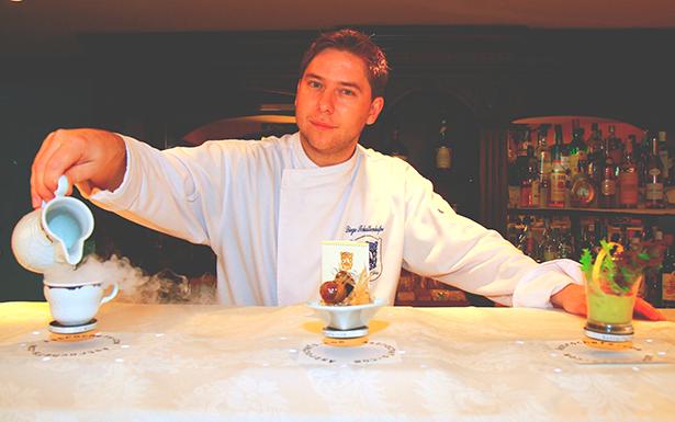 Diego Schattenhofer y sus platos voladores