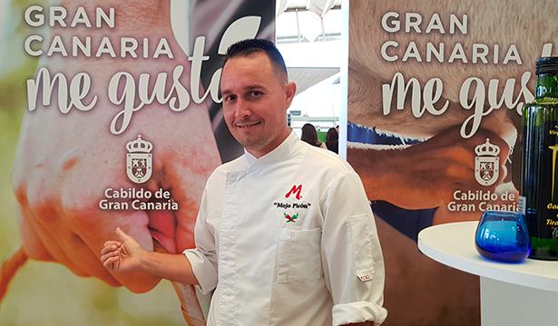 El chef grancanario Davidoff Lugo   Foto: J. L. Conde