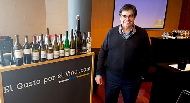 Juancho Asenjo, periodista, enólogo y profesor | Foto: J. L. Conde