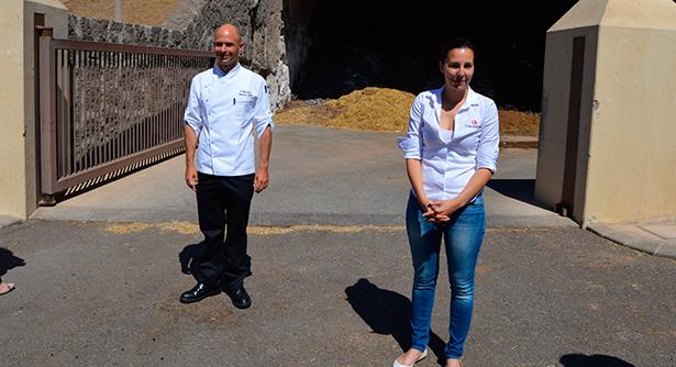 Víctor Bossecker y Arminda García, de Finca Uga   Foto: J. L. Conde