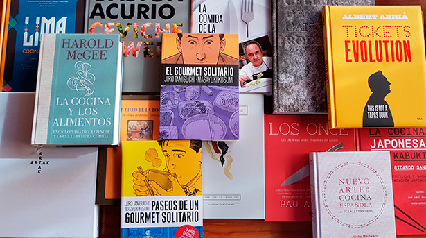 La literatura gastronómica vive un boom en la actualidad | Foto: J. L. C.