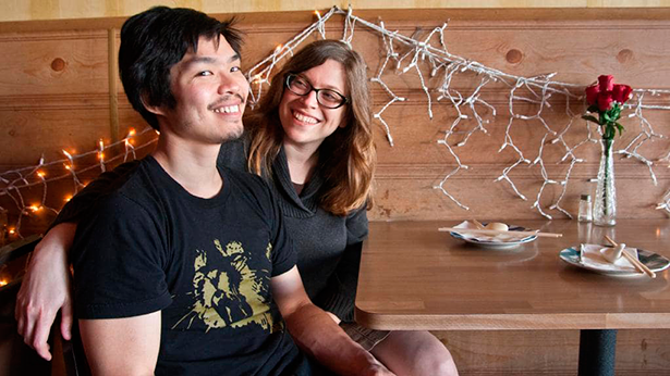 Anthony Myint con su mujer, Karen Leibowitz | Foto: The Advertiser
