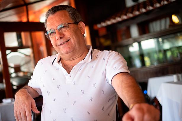 Mariano Ramos, propietario de un restaurante emblemático de Tenerife como es Los Limoneros | Foto:  Fran Pallero