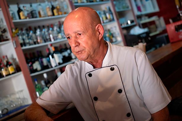 José Herrera, chef y propietario de Los Troncos | Foto: Fran Pallero