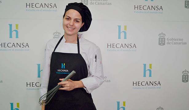 Nieves María Cabrera Marante, una de las finalistas del concurso Le Cordon Bleu