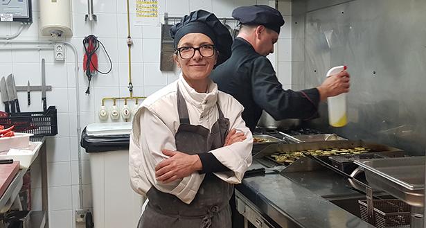 Teresa Mesa, propietaria del catering Gomeralia | Foto: J. L. Conde