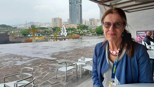 Vicky Hayward, hispanista y autora de 'El nuevo arte de la cocina, de Juan Altamiras' | Foto: J. L. Conde