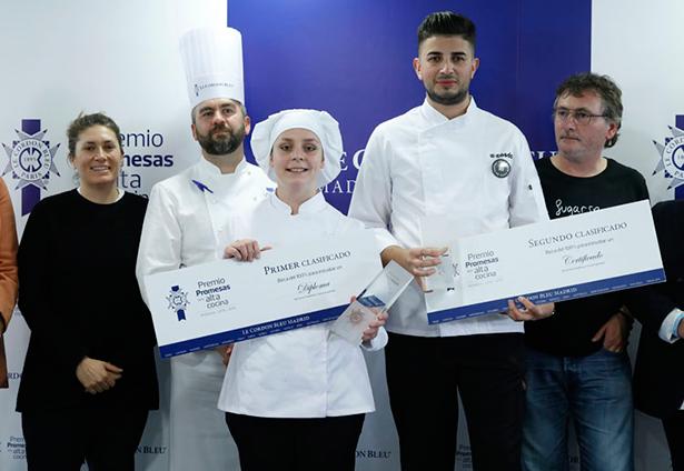 Anna Drosyk ganó el  Premio Promesas de la Alta Cocina de Le Cordon Bleu | Foto: restauracionnews
