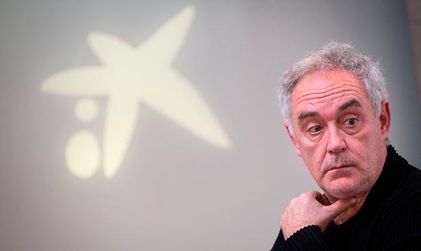 Ferran Adrià, chef y director Elbullifoundation | Foto: Fran Pallero