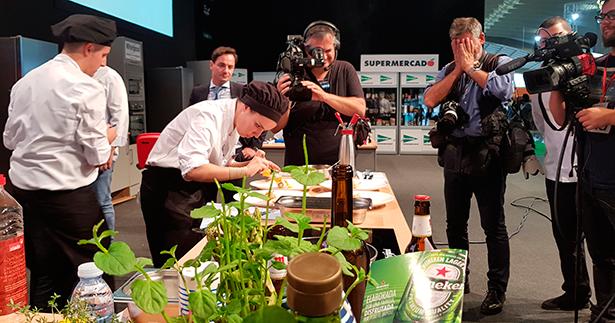 Una de las concursantes del Campeonato de cocineros del año pasado | Foto: J. L. Conde