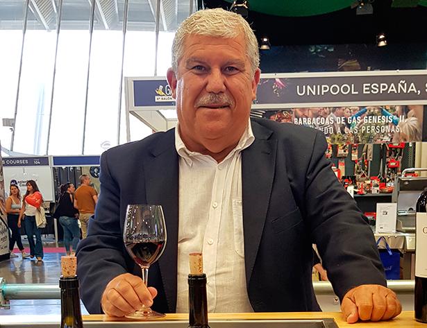 Óscar Santos, responsable comercial en El Gusto por el Vino | Foto: J. L. Conde