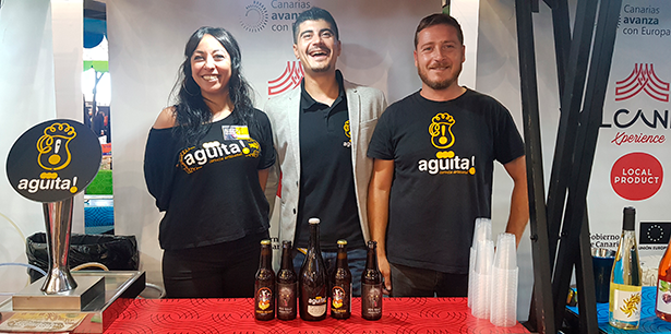 Agüita es una cerveza artesanal que se elabora en la capital tinerfeña | Foto: J. L. Conde