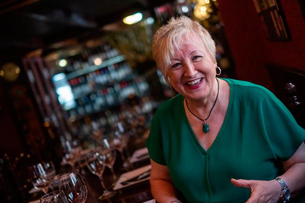 Isabel Rodríguez Calvín, chef propietaria del restaurante La Posada   Foto: Fran Pallero