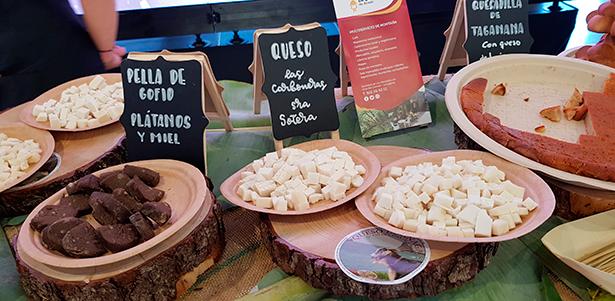 Productos de Anaga en el stand de Santa Cruz en GastroCanarias   Foto: J. L. Conde