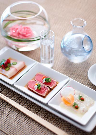 Una de las propuestas culinarias de Nobu  Matsuhisa