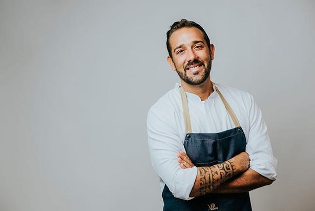 Nacho Hernández, chef del Jaxana