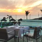 El restaurante La Terrace del hotel Meliá cuenta con unas vistas espectaculares | Foto: José L. Conde