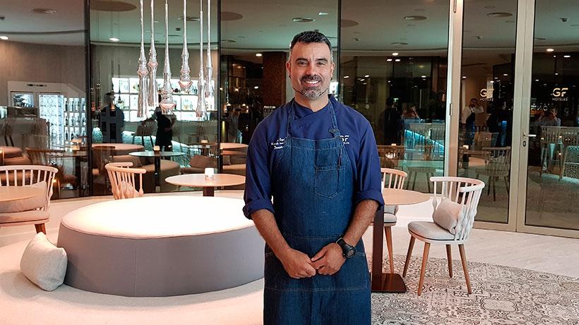 Francisco Expósito, chef del restaurante Donaire | Foto: J. L. Conde