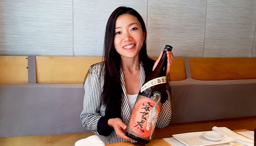 Mayuko Sasayama, sumiller de sake | Foto: J. L. Conde