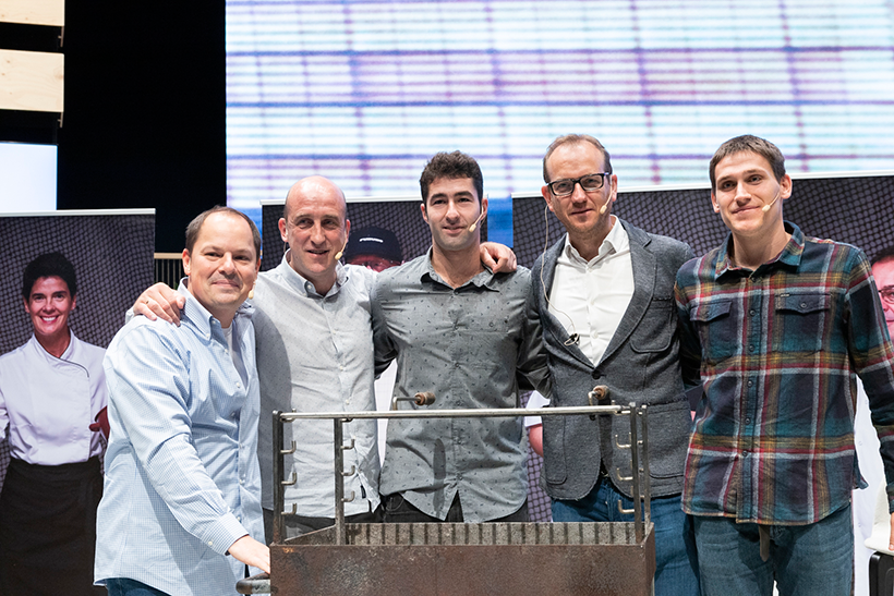 De izquierda a derecha:  Enrique Fleischmann, Aitor Arregi, Markel Iribar, Igor Arregi y Gorka Lazkano | Foto: Coconut