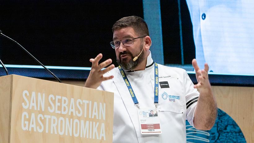 Dani García ha dado su última ponencia como triestrellado | Foto: Coconut