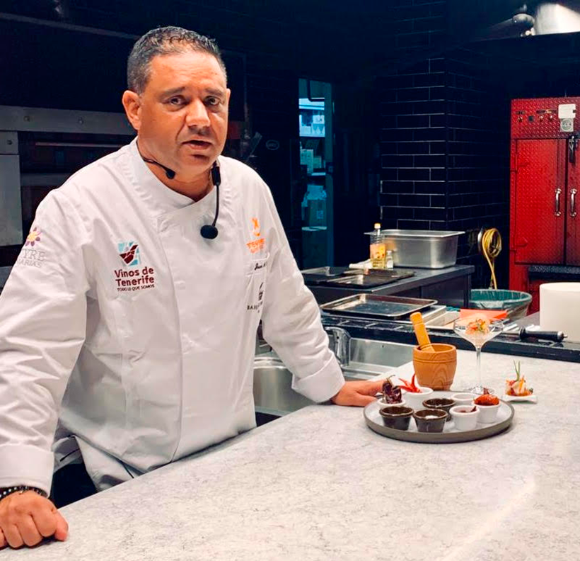 Juanmi Cabrera, chef ejecutivo del hotel Bahía del Duque